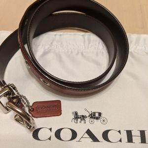 Authentic Coach Belt